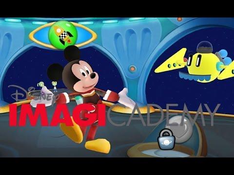 Goofy Teaches at Imagicademy Math World  - Learn Sorting