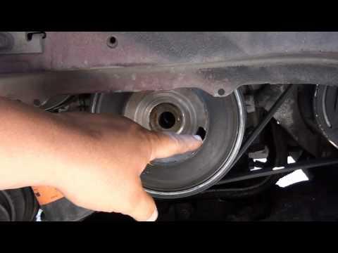 How to replace a crankshaft sensor on a grand prix gtp