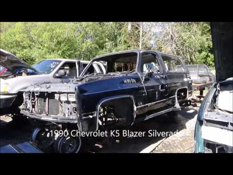 Square Body in the Junk Yard Episode 6