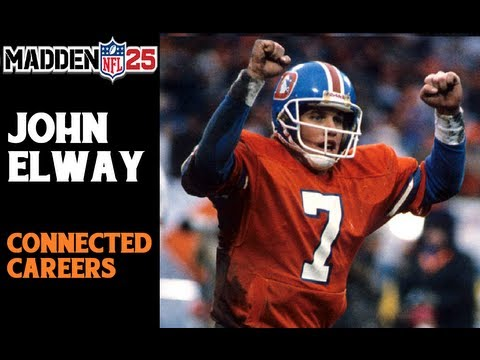 Madden NFL 25   Connected Careers   Quarterback John Elway Preview