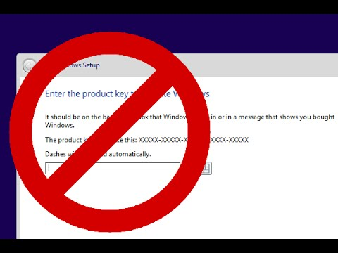 Install Windows 8 Without Product Key