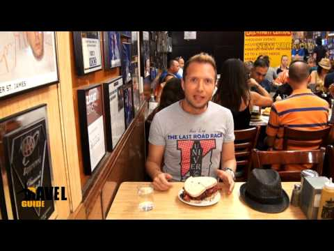 Pastrami Sandwich Katz's Deli - New York City