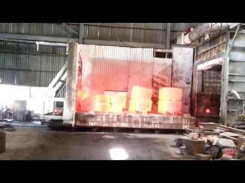 Heating Big Block of Iron