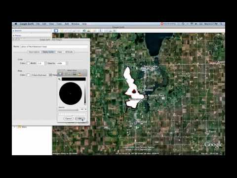 4- Polygon Tool [Google Earth Tutorial]
