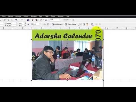 17  Using Table Menu, Creating Calendar, Publish to PDF, JPG and Flex Designing