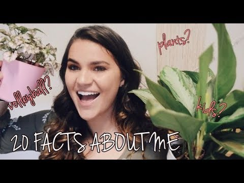 20 RANDOM FACTS ABOUT ME // 2018