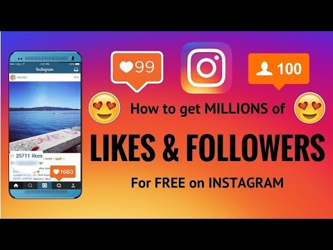 How to get REAL Instagram followers and likes 2018 - BEST METHOD