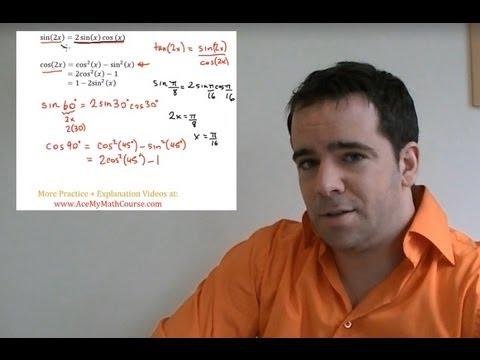 Double Angle Identities (Trigonometry) - Quick Introduction