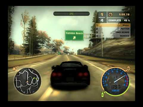 Need for Speed Most Wanted Bonus Cars - Corvette C6.R