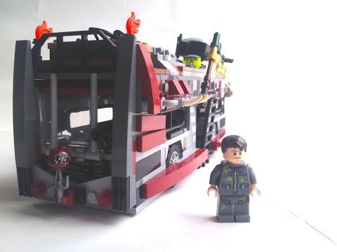 LEGO Zombie Apocalypse Survival Bus! (#21)
