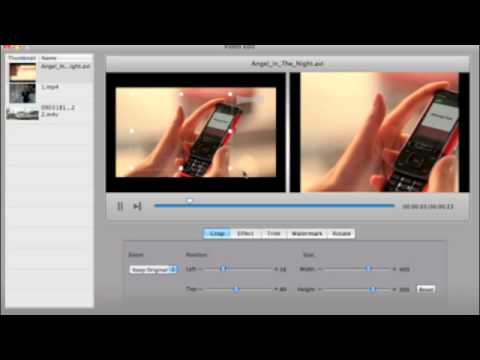 How to Edit/Crop the Video Before Burning to DVD on Mac