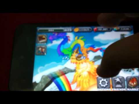 How to get rainbow or moon dragon in dragonvale