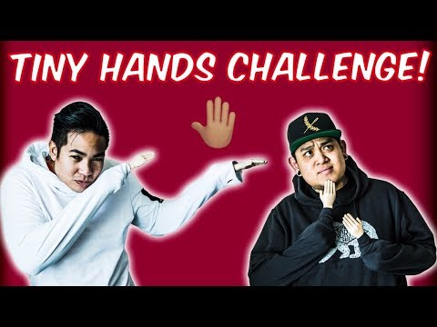 Tiny Hands Challenge! | We Lost Our Hands!
