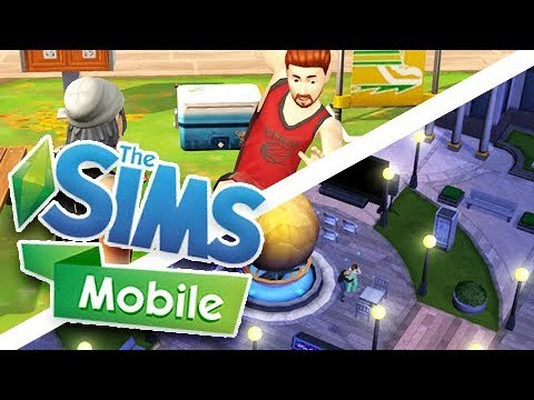 DOWNTOWN + SPECIAL EVENTS | THE SIMS MOBILE!