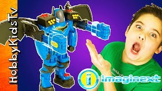 Giant BatBot Extreme with Toy Play by HobbyKidsTV