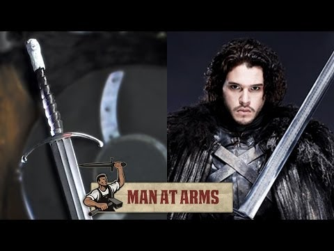 Jon Snow's Longclaw (Game of Thrones) - MAN AT ARMS