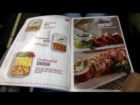 Spicejet Flight Menu | In Flight Food Details with Menu Price