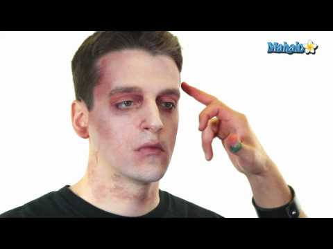 How to Do Basic Zombie Makeup