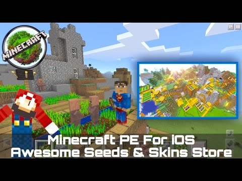 [iOS] The Best Minecraft PE Seeds & Skins Store For iPhone / iPad / iPod 100% Free and No Jailbreak