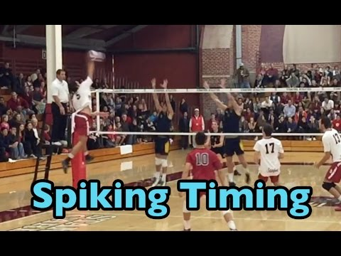 Improve Spiking TIMING (part 2/2) - How to SPIKE a Volleyball Tutorial