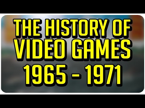 The History of Video Games: 1965 - 1971