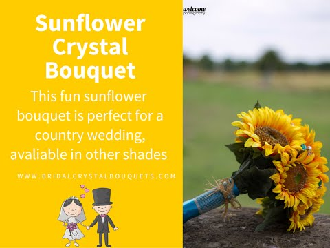 Sunflower Crystal Bouquet