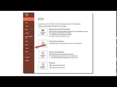 Turning PPT Presentations into Videos