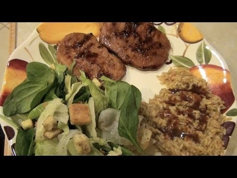 Simple, Marinated, Baked Pork Chops