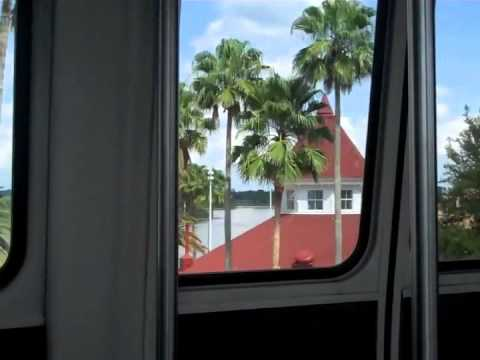 DISNEY WORLD MONORAIL - RIDE FROM MAGIC KINGDOM TO TTC
