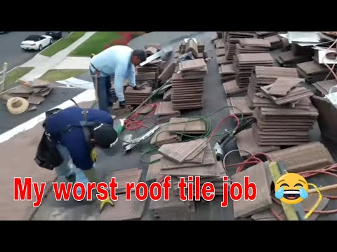 My worst Tile job in my life as a roofer ( Part 2)