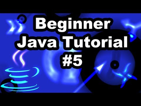 Learn Java Tutorial 1.5- Using Scanner to get User Input