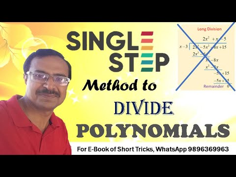 Trick 110 - Divide Polynomials in a Single Step
