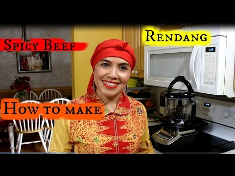 How to Make Spicy Beef Rendang