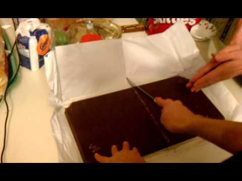 Chocolate Bar Cutting Ceremony