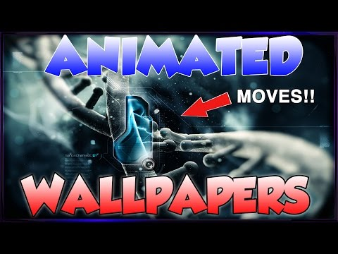 Get Animated (Moving) Wallpapers for your Desktop PC Windows 10 + 7 (How to Tutorial)