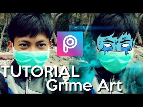 TUTORIAL GRIME ART | PICSART