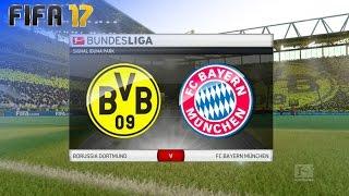 Fifa 17 - Borussia Dortmund Vs. Fc Bayern München @ Signal Iduna Park (xl Match)