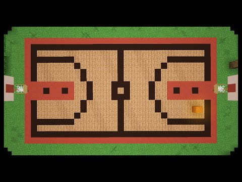 ✔ Minecraft: How to make a Basketball Court