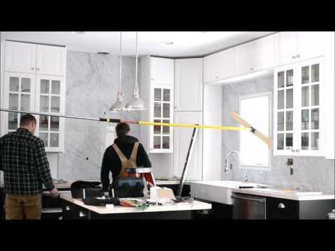 Prima Stone Kitchen Backsplash Installation