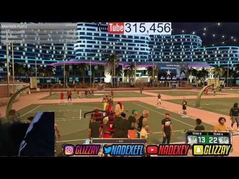 NADEXE GETS SWATTED LIVE ON STREAM - NBA 2K17