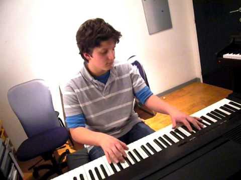 Korneel, Clocks, Coldplay, piano