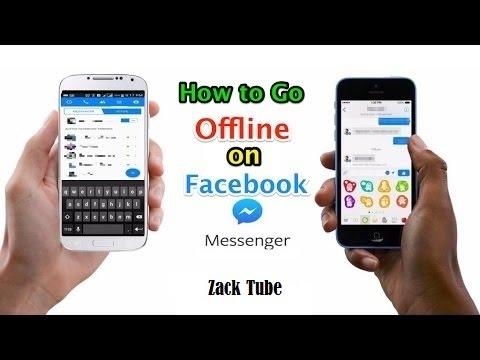 How to go offline on Facebook Messenger