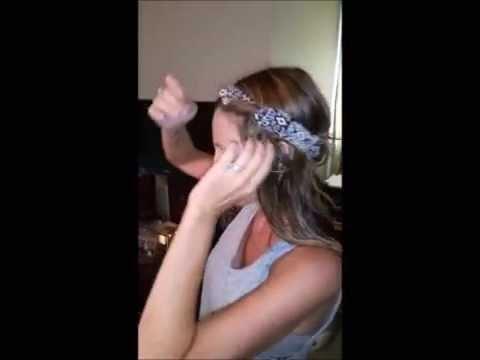 Fun Way To Wear Your Hippie Headband!