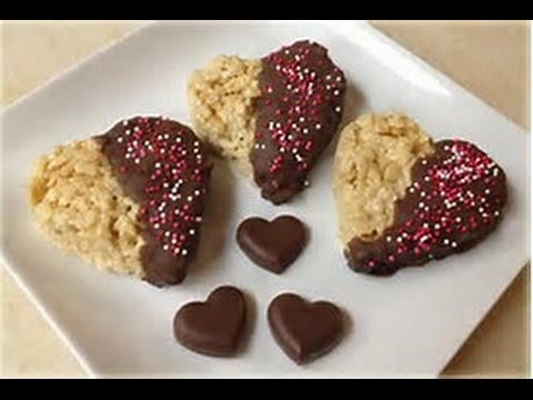How to make Chocolate Dipped Rice Crispy Treats