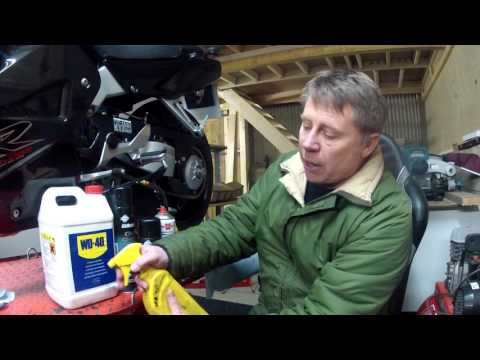 CHAIN CLEANING & LUBRICATION
