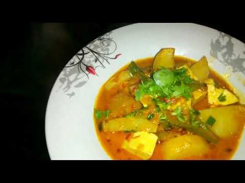 How to make aloo paneer Curry ki sabzi recipe
