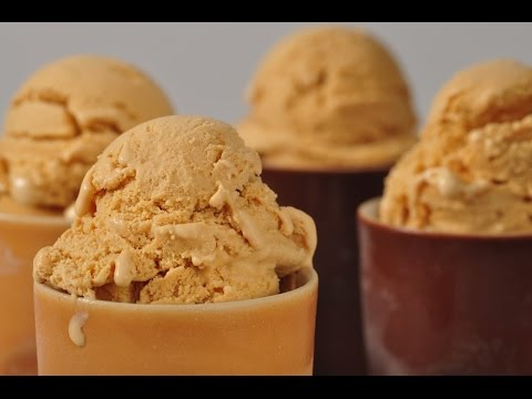 Dulce de Leche Frozen Yogurt Recipe Demonstration - Joyofbaking.com