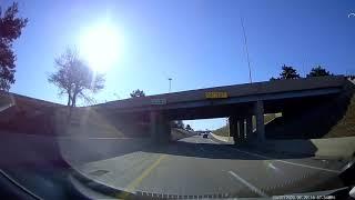 Driving to Detroit, Michigan from Southfield, Michigan