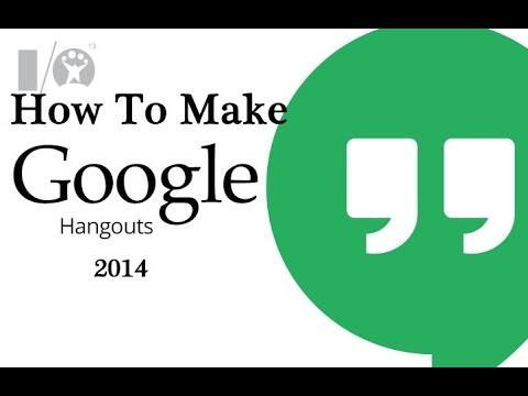 How To Make GOOGLE PLUS Hangout Chat Quickly 2015 [HD]