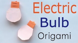 Download Origami Paper Electric Light Bulb✨Instruction - Origami Kawaii〔#134〕 Video